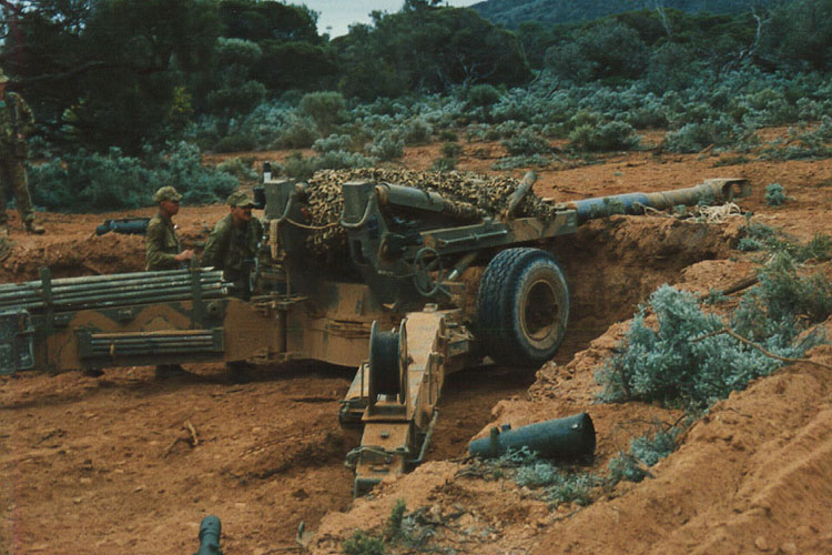 Used Military Vehicles >> M198 in action